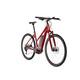 Cube Cross Hybrid Pro 400 E-hybride fietsen Trapez rood